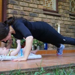 Physical Exercise with a Baby