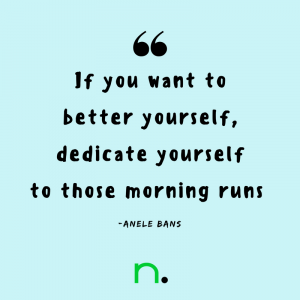 Running Tips from Everyday Runners - Anele