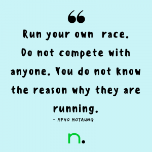Running Tips from Everyday Runners - Mpho