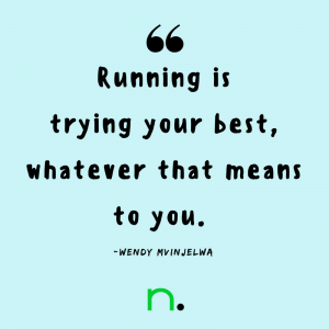 Running Tips from Everyday Runners - Wendy