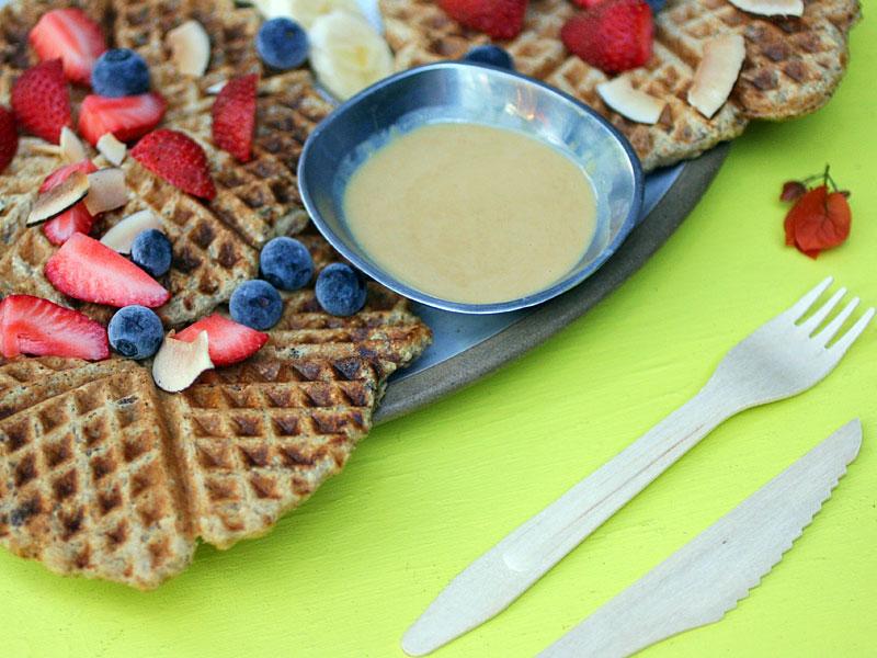 Aquafaba Waffles