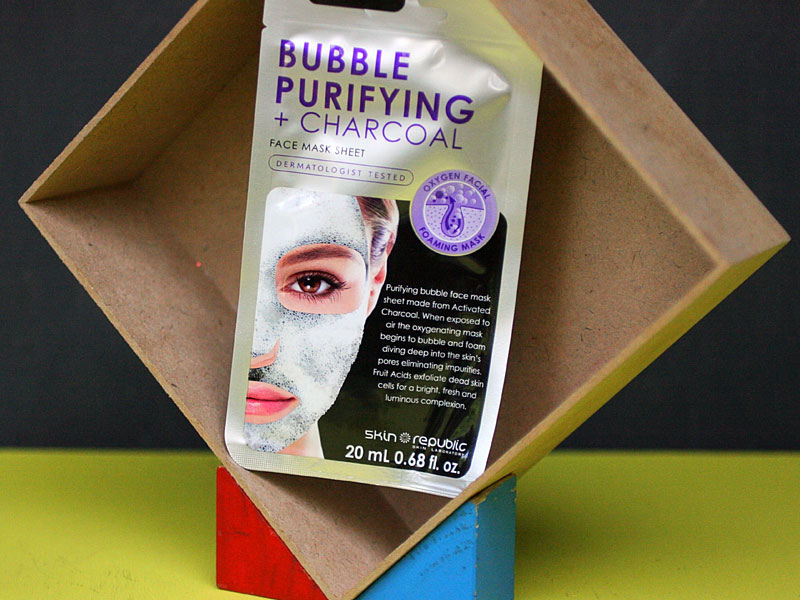 The Ultimate Guide to Activated Charcoal - Skin Republic Purifying Bubble Charcoal Mask