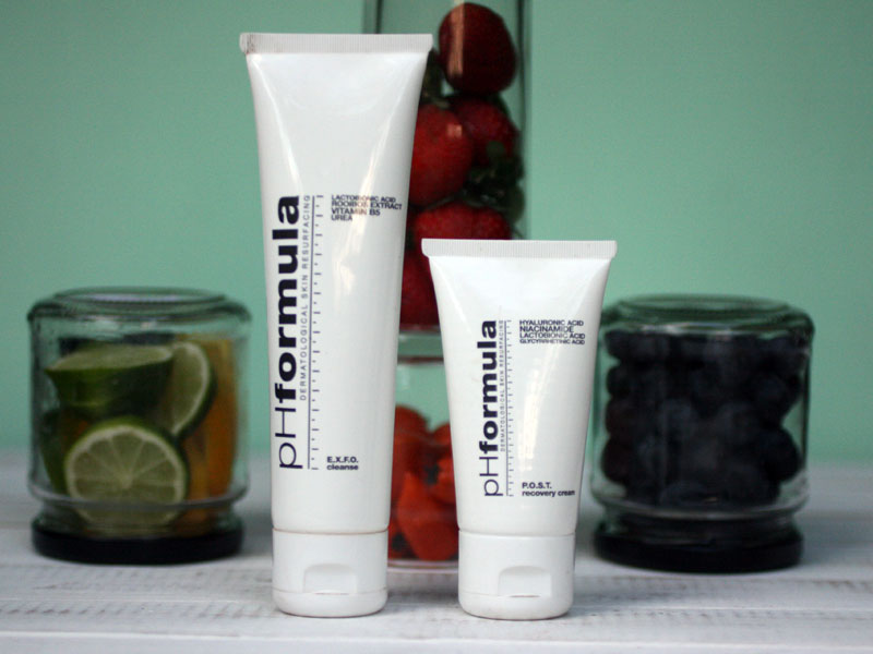 EXFO cleanse and Post recovery cream