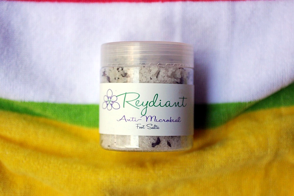 How to Achieve Summer all year long - Reydiant Anti-Microbial Foot Salts