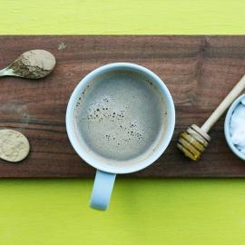 Mocha Maca Mushroom Latte