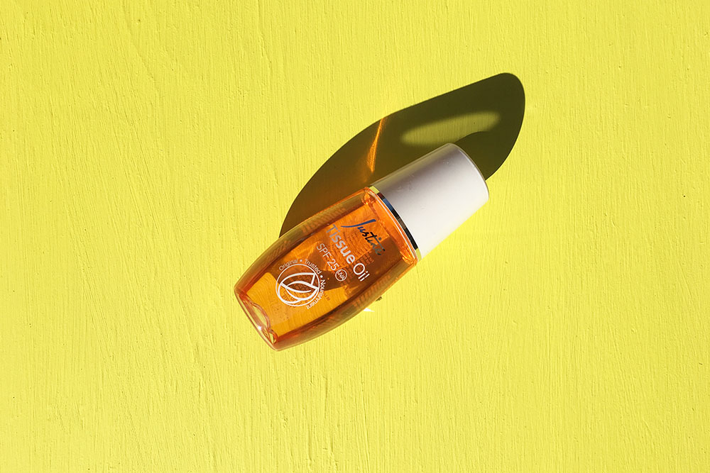 All the things we Loved this month [July] - Justine Tissue Oil SPF 25
