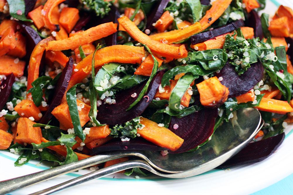 Mega Roasted Vegetable and Quinoa Salad