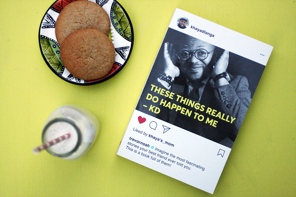 These Things Really Happen to Me by Khaya Dlanga Review + Giveaway