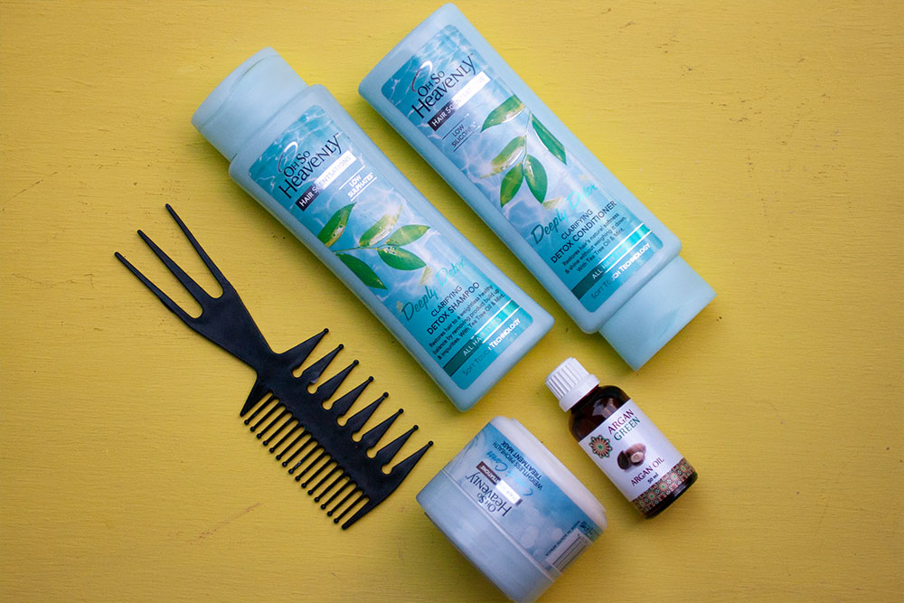 How we Swim Proof Our Hair kit