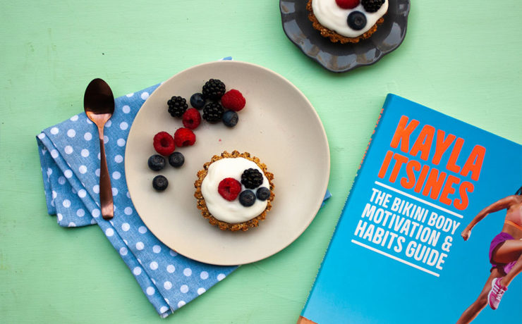 Kayla Itsines' Breakfast Tart Recipe