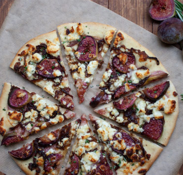 Caramelised Onion, Fig and Feta Pizza