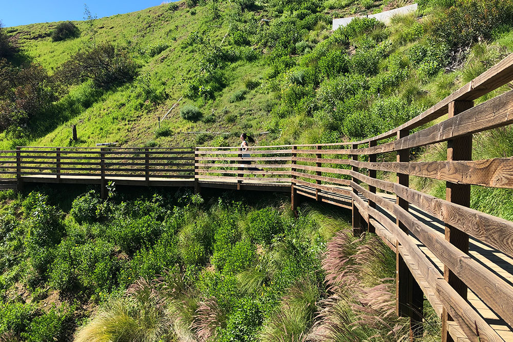 Hiking Los Angeles Two Trails Not to Miss bridge