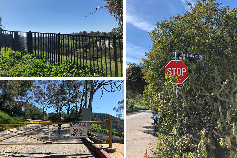 Hiking Los Angeles Two Trails Not to Miss start of burbank peak trail