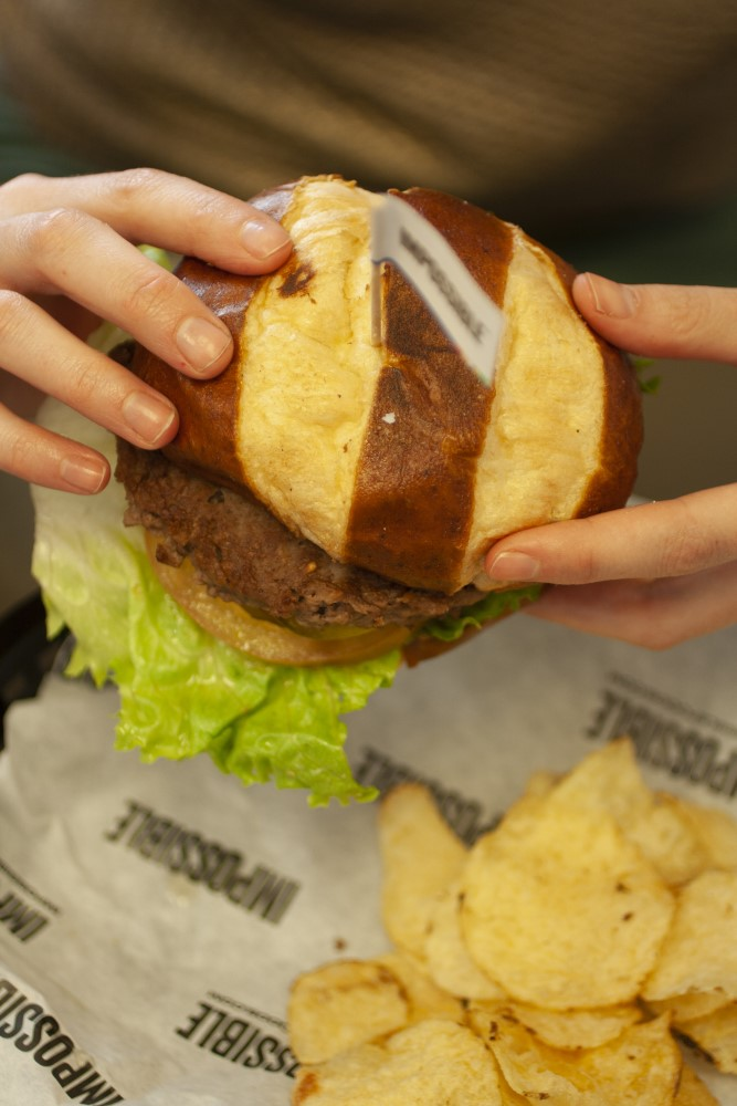 We tried the Impossible Burger