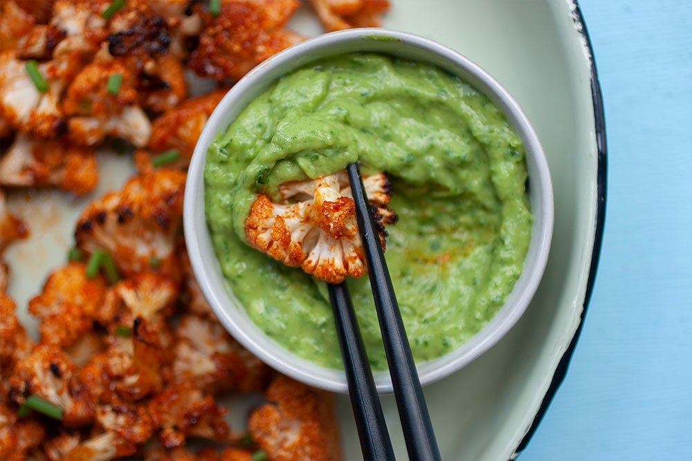 Sweet 'n Spicy Cauliflower Bites 2