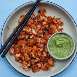 Sweet 'n Spicy Cauliflower Bites