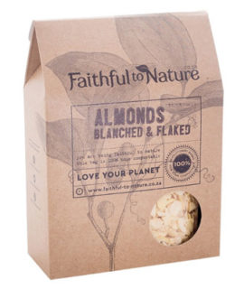 Faithful to Nature Almonds - Blanched & Flaked