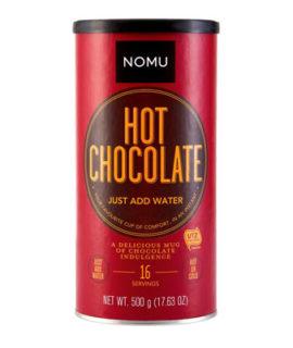 NOMU JUST ADD WATER HOT CHOCOLATE