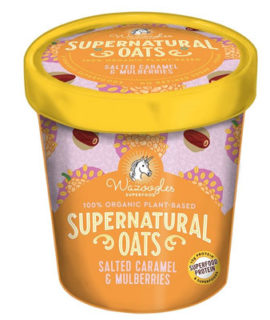 Wazoogles Supernatural Oats Pot - Salted Caramel & Mulberries