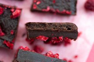 Chocolate Raspberry Tahini Fudge 02