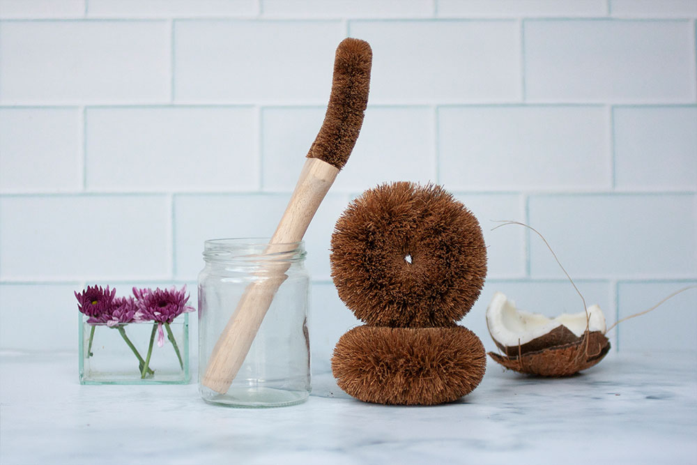 Eco Coconut's Kitchen Brushes and Scourers