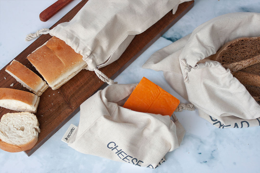 Ecorrific Bread and cheese bags