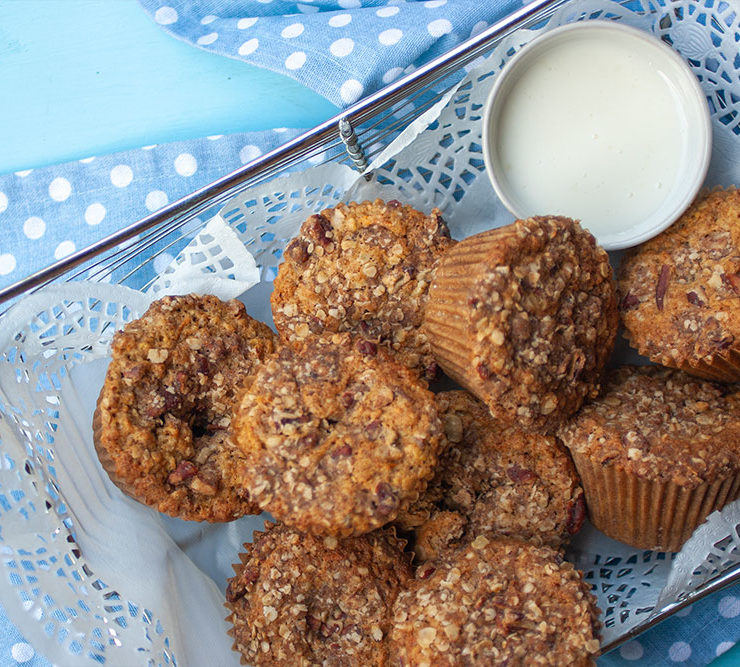 Carrot Cake Muffins