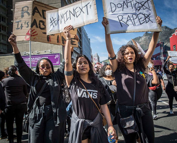 "Why I March: 8 Women share their ""Why"" behind marching against Gender Based Violence"