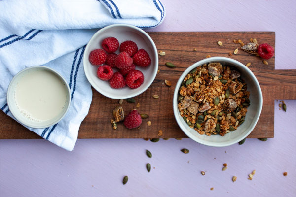 Tahini Fig Nut Free Granola
