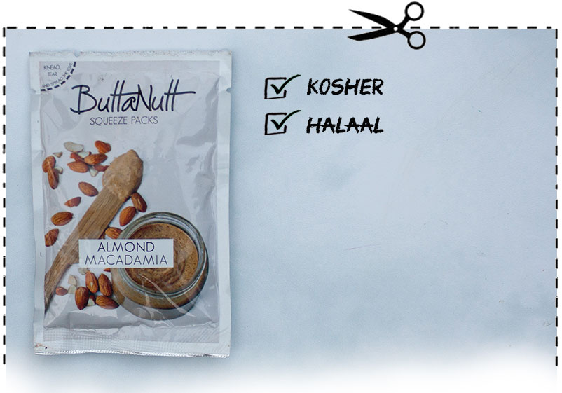 Buttanut Almond and Macadamia Squeeze pack