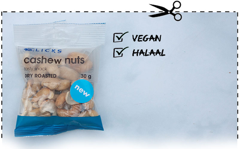 Clicks Cashew Nuts snack pack