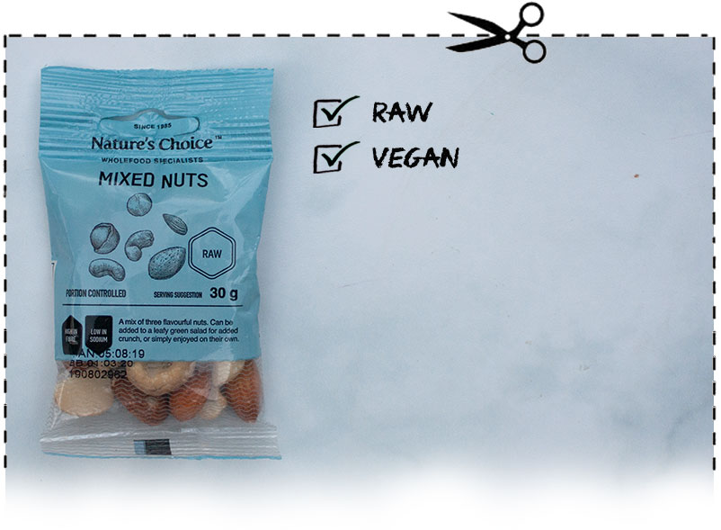 Nature's Choice Mixed Nuts Snack Pack
