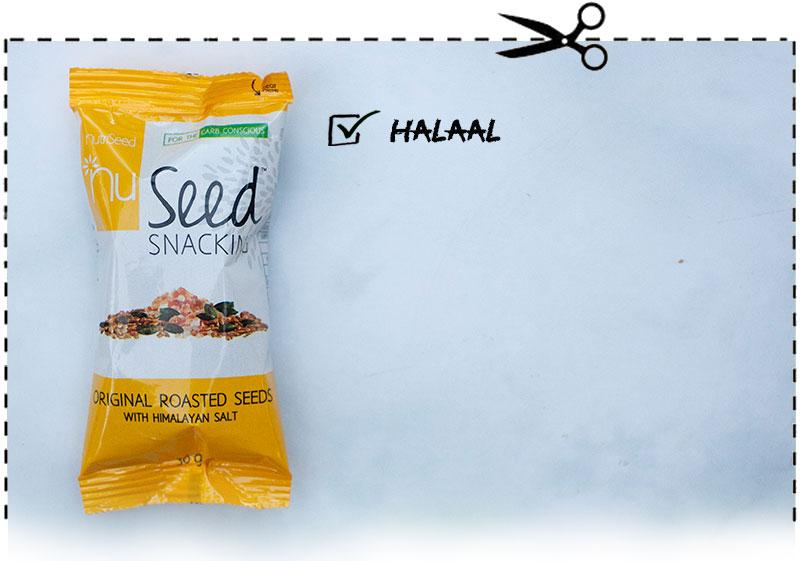 Nu Seed Original Roasted Seeds with Himalayan Salt