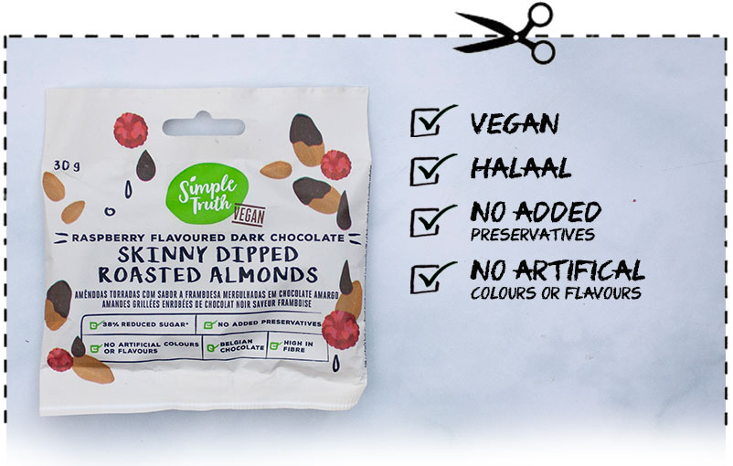 Simple Truth Skinny Dipped Roasted Almonds