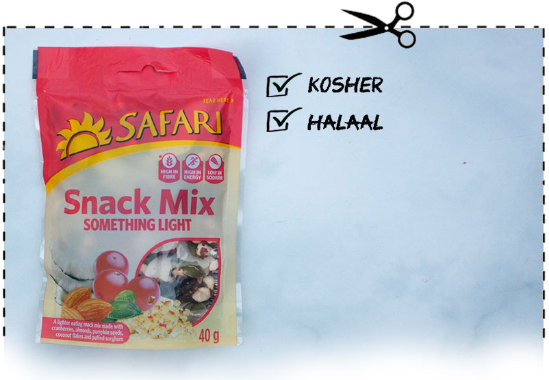Safari Snack Mix Something Light