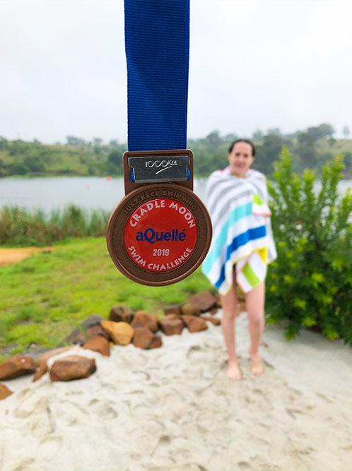 Cradle Moon Swim Challenge