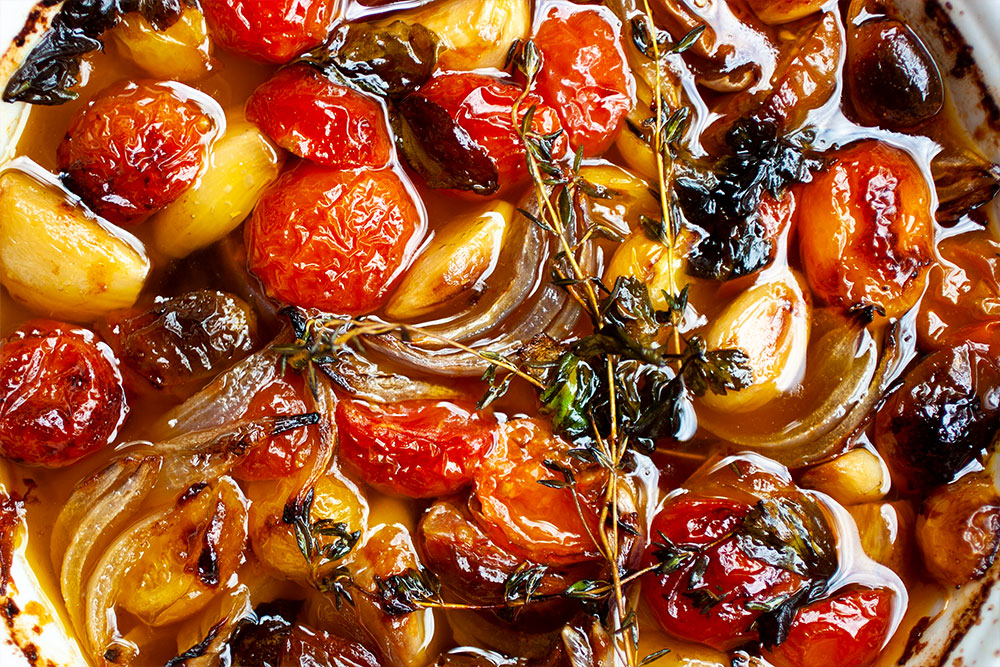 How to make Tomato & Garlic Confit
