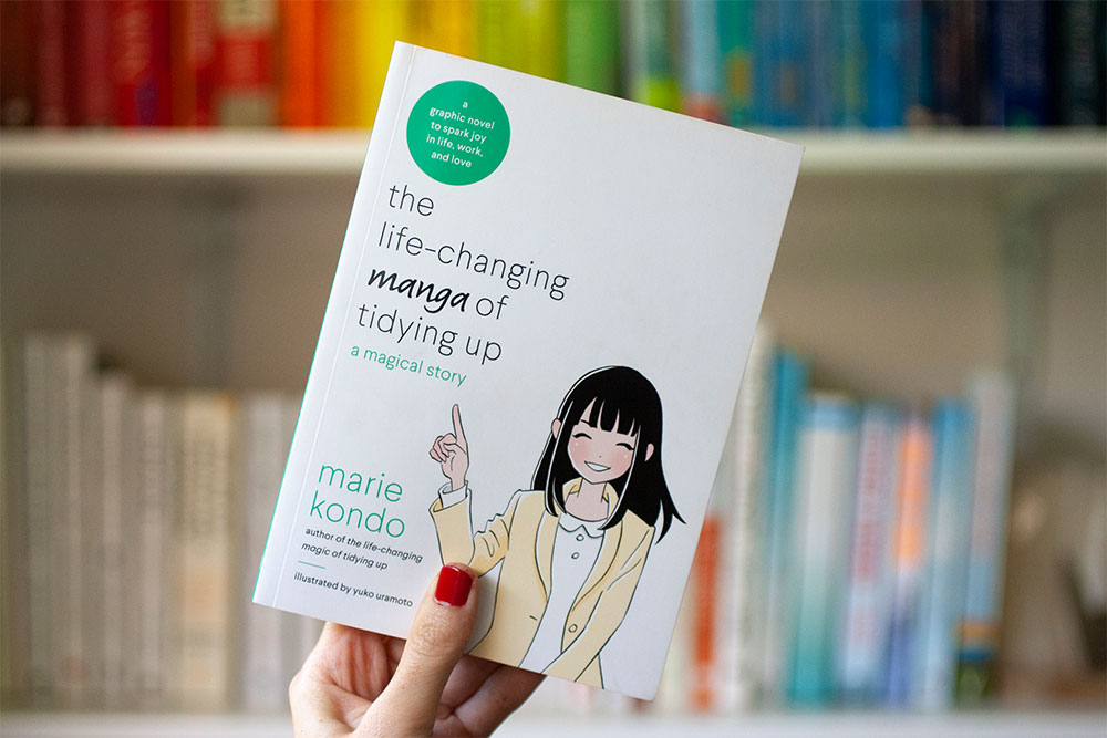 Marie Kondo and The Life Changing Manga of Tidying up