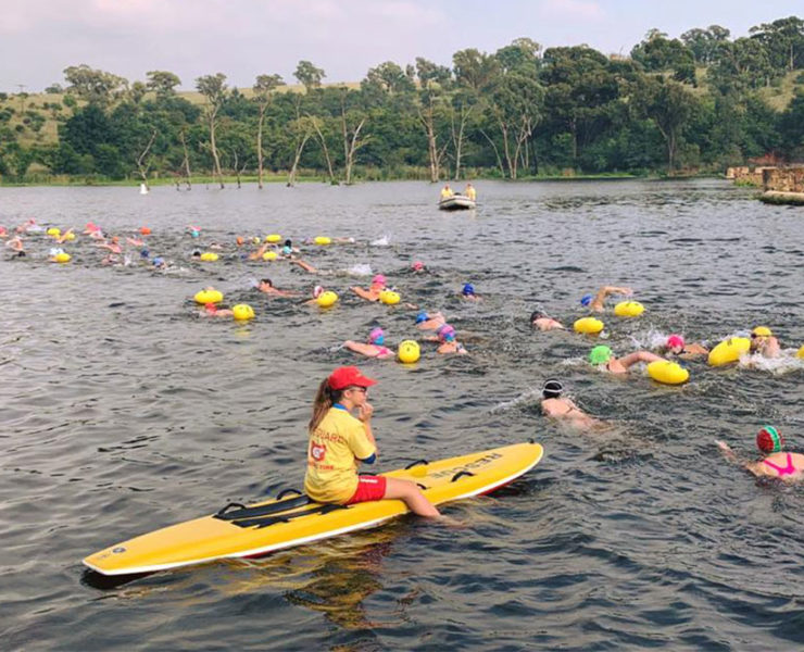 A Race Report in Short Stories (Lake Heritage Water Festival)