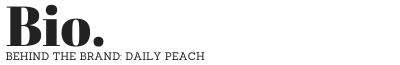 Bio Daily Peach