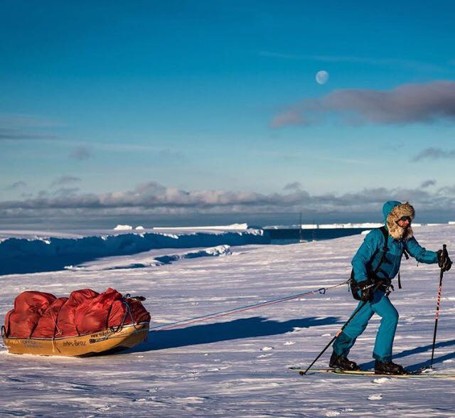 Mike Horn on crossing Antarctica, fulfilling childhood dreams and the world of exploration