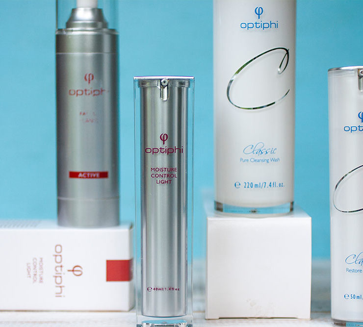 A skincare Journey with Optiphi