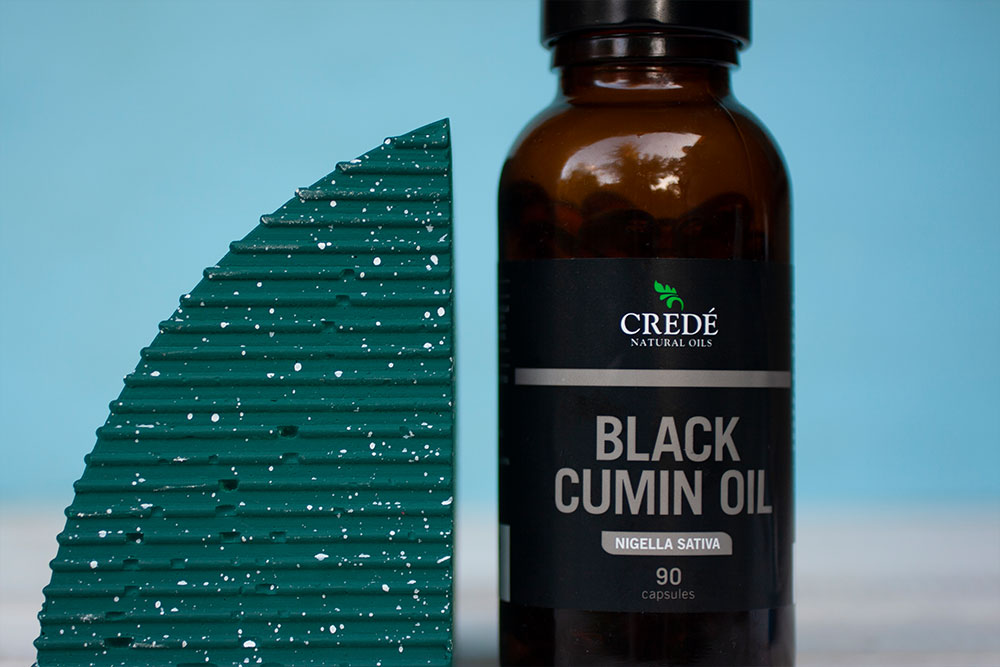 Crede Natural Oils Black Cumin Oil Capsules
