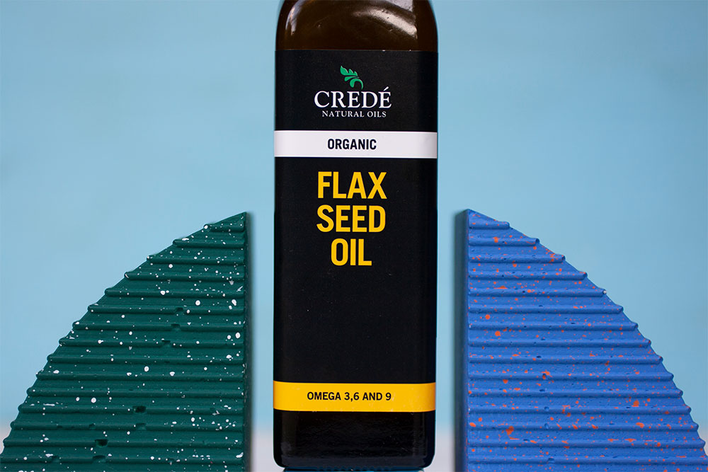 Crede Natural Oils Flax Seed Oil