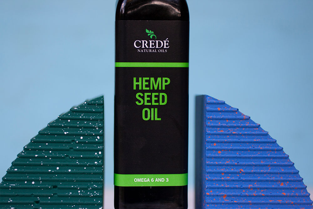 Crede Natural Oils Hemp Seed Oil