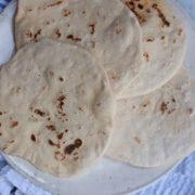 My Go To 4 Ingredient Flatbread Recipe