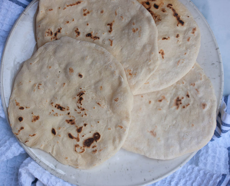 My Go To 4 Ingredient Flatbread Recipe