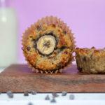 Gluten Free Banana Muffins with Chocolate Chips