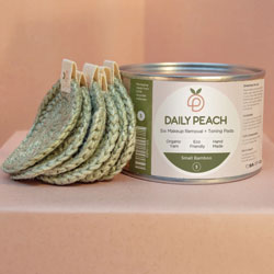 Daily Peach Makeup Removal + Toning Pads