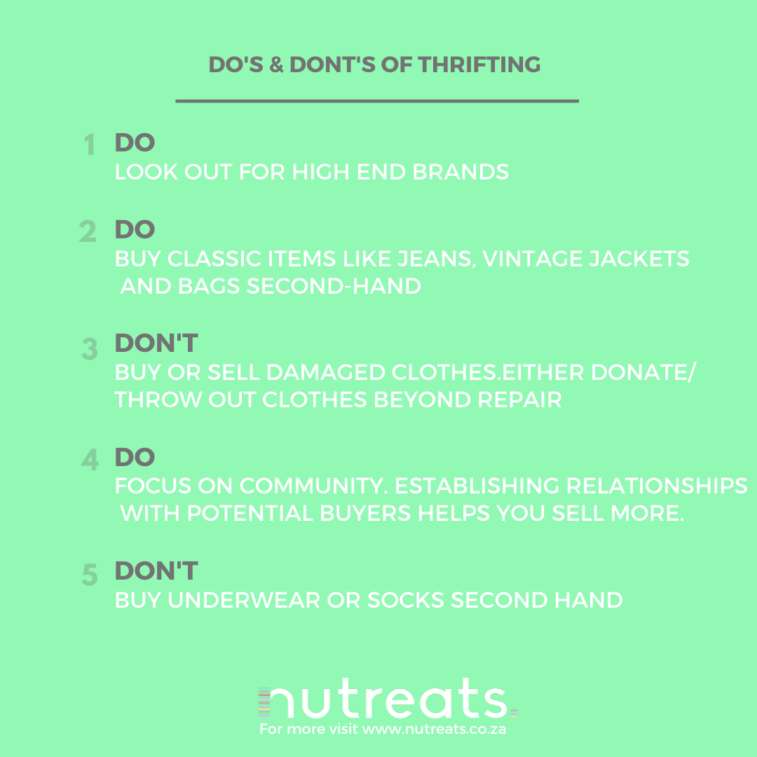 How to Thrift and Sell Your Second-hand Clothing